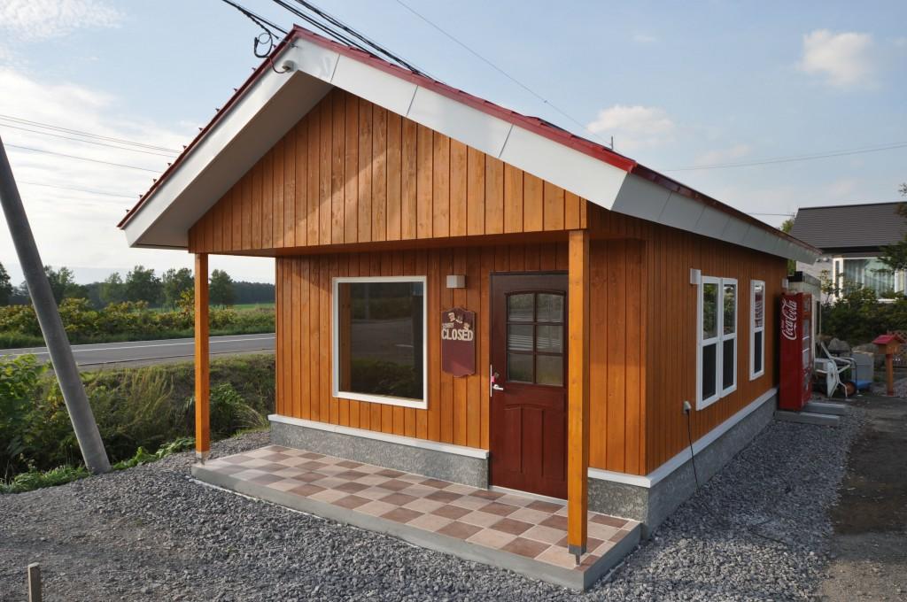 写真:名寄市「とこもこはうす」様 〜赤い屋根のかわいいお店〜(1)