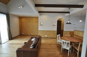 写真:士別市 N様邸 〜薪ストーブのある赤い屋根のおうち〜(3)